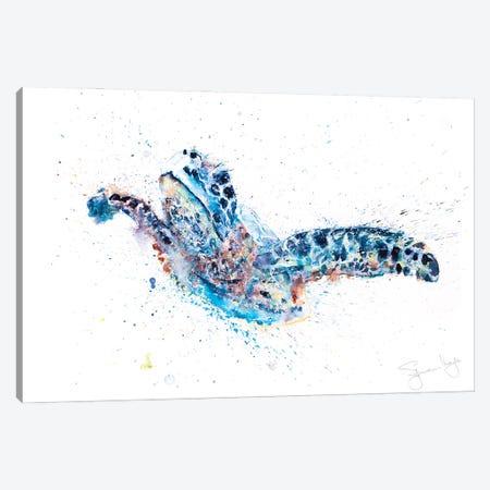Turtle Talulah Canvas Print #SYK171} by Syman Kaye Canvas Artwork