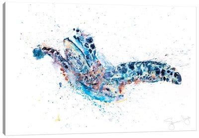 Turtle Talulah Canvas Art Print