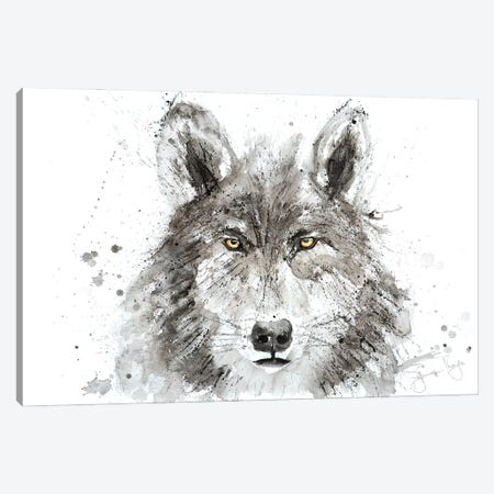 Wolf I Canvas Print #SYK175} by Syman Kaye Canvas Print
