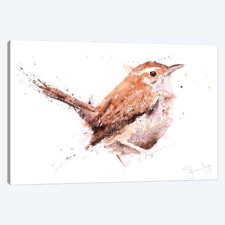 Wren Canvas Print #SYK176} by Syman Kaye Canvas Print