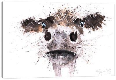 Boo Cow Canvas Art Print