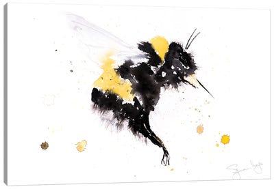 Bumble Bee III Canvas Art Print