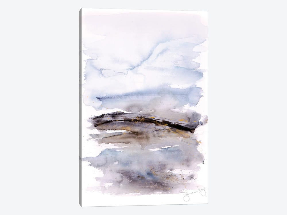 Abstract Landscape I by Syman Kaye 1-piece Canvas Art Print