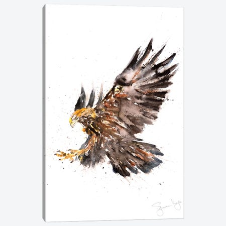 Eagle I Canvas Print #SYK35} by Syman Kaye Canvas Print