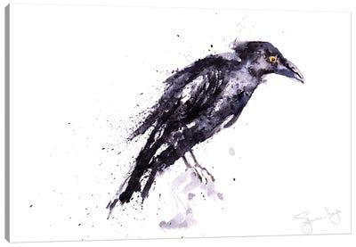 Edgar Crow Canvas Art Print