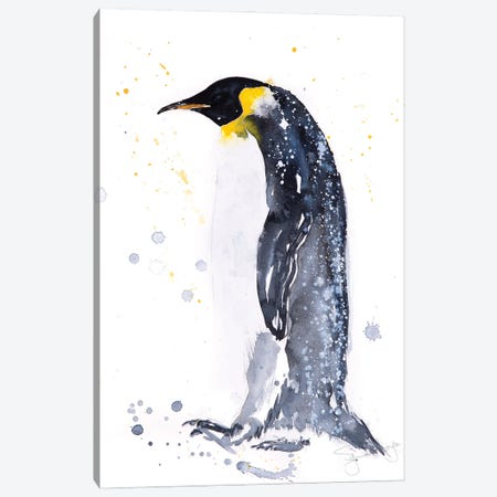 Emperor Penguin I Canvas Print #SYK39} by Syman Kaye Canvas Wall Art