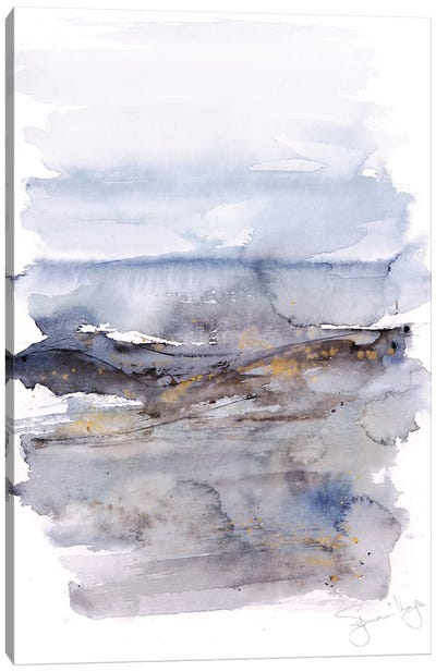 Abstract Landscape II Canvas Art Print