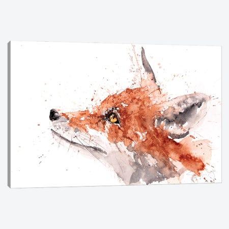 For Fox Sake Canvas Print #SYK50} by Syman Kaye Canvas Art
