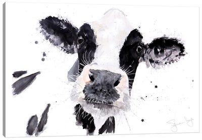 Gerturude Cow Canvas Art Print