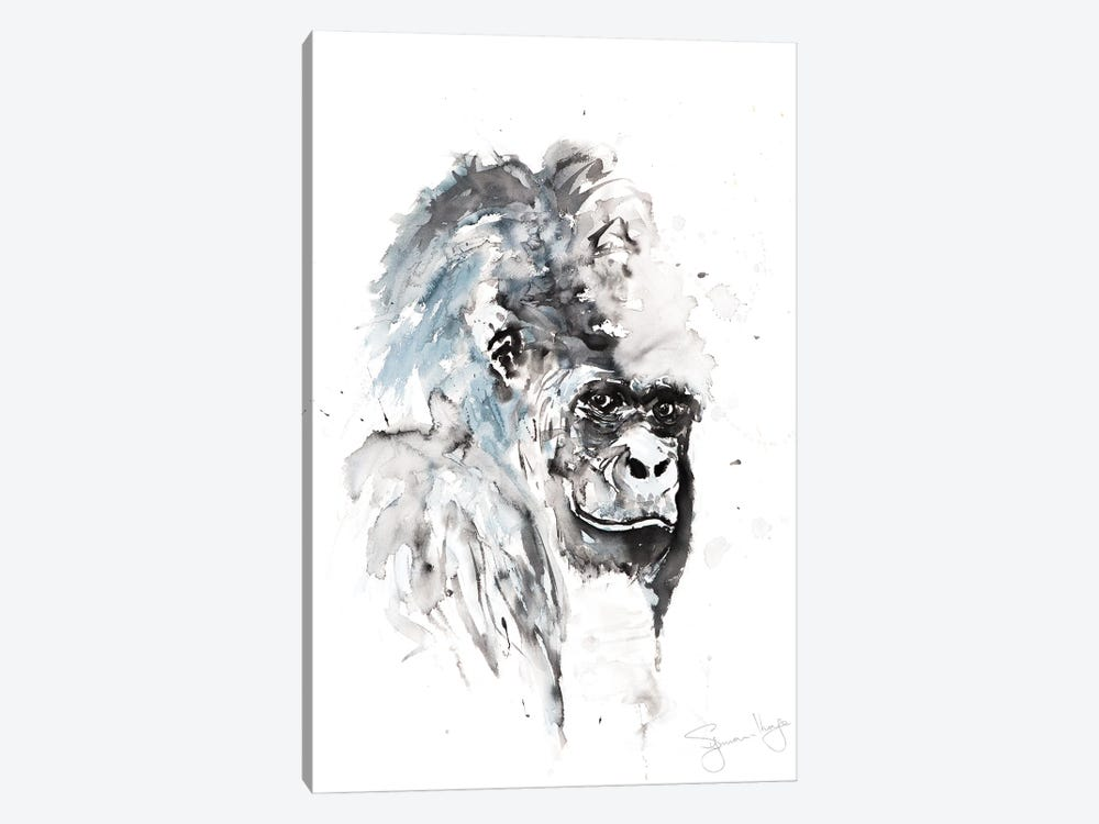 Gorilla I by Syman Kaye 1-piece Canvas Print