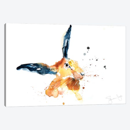 Hare I Canvas Print #SYK61} by Syman Kaye Canvas Art Print