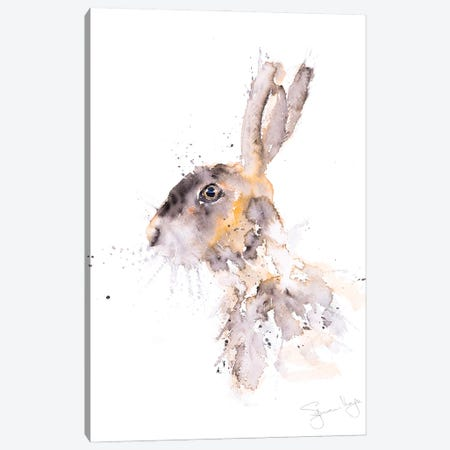 Hare Warren Canvas Print #SYK64} by Syman Kaye Canvas Art