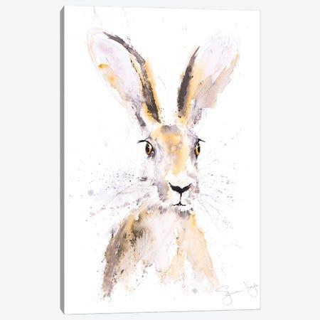 Hermione Hare Canvas Print #SYK68} by Syman Kaye Art Print