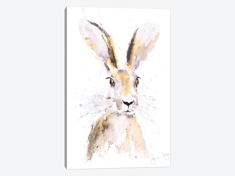 Hermione Hare by Syman Kaye 1-piece Canvas Art