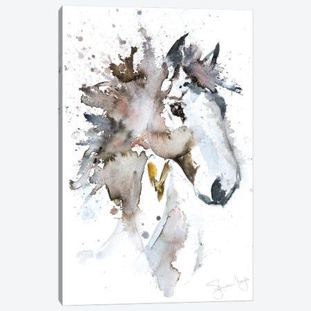 Horse II Canvas Print #SYK70} by Syman Kaye Canvas Artwork