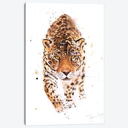 Jaguar Canvas Print #SYK76} by Syman Kaye Canvas Art Print