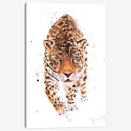 Jaguar Canvas Print #SYK76} by Syman Kaye Canvas Art Print