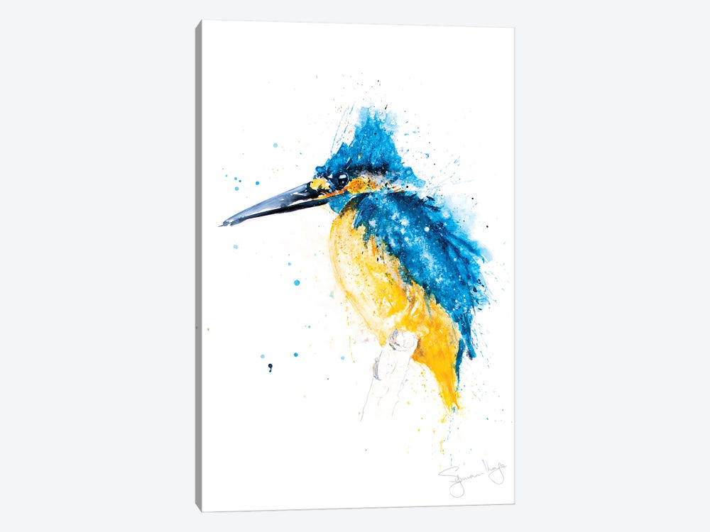 Kingfisher by Syman Kaye 1-piece Canvas Art
