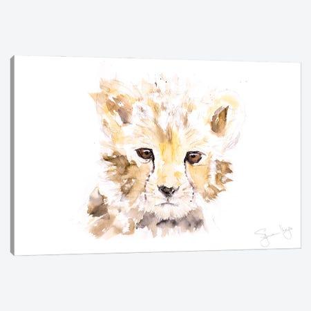 Mini Cheetah I Canvas Print #SYK86} by Syman Kaye Canvas Art