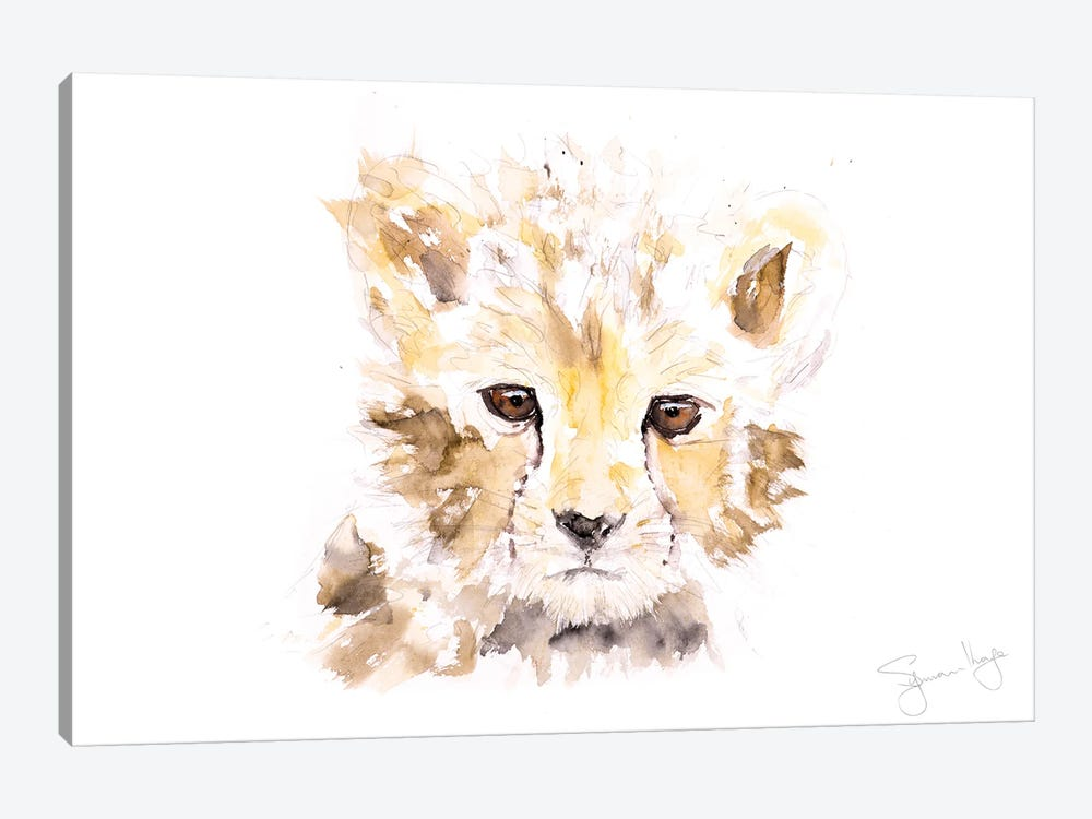 Mini Cheetah I by Syman Kaye 1-piece Canvas Wall Art