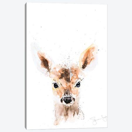 Mini Deer I Canvas Print #SYK87} by Syman Kaye Canvas Art