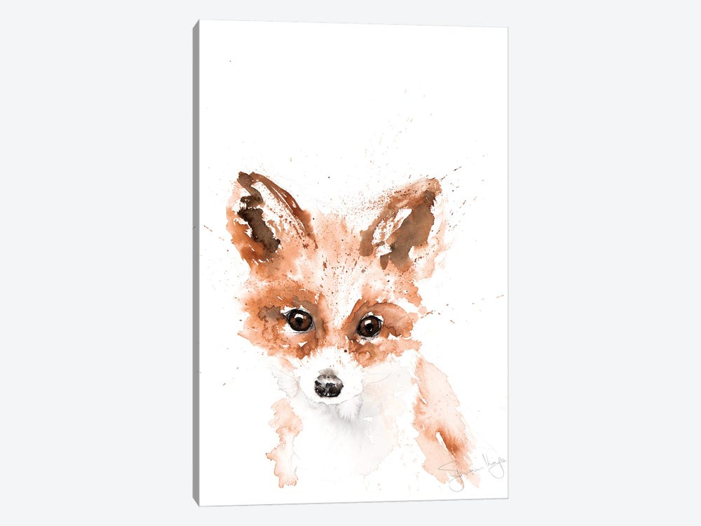Mini Fox I by Syman Kaye 1-piece Canvas Art Print