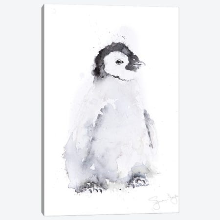 Mini Penguin II Canvas Print #SYK92} by Syman Kaye Canvas Artwork