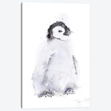 Mini Penguin II Canvas Print #SYK92} by Syman Kaye Canvas Artwork
