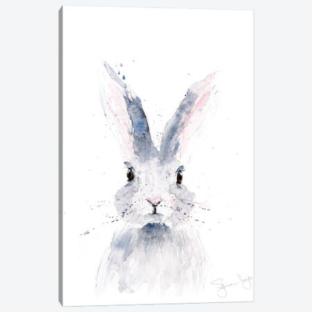 Mini Rabbit I Canvas Print #SYK94} by Syman Kaye Canvas Art Print