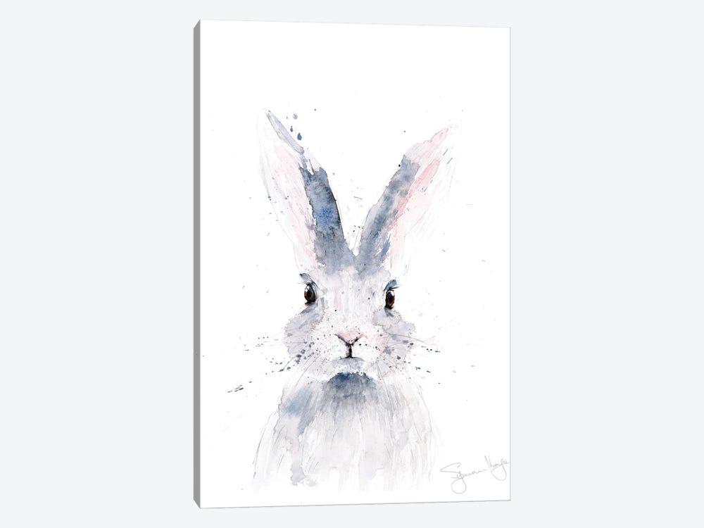 Mini Rabbit I by Syman Kaye 1-piece Art Print