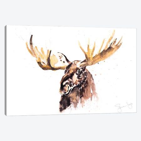 Moose III Canvas Print #SYK96} by Syman Kaye Canvas Art Print