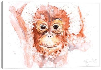 Orangutang Baby I Canvas Art Print
