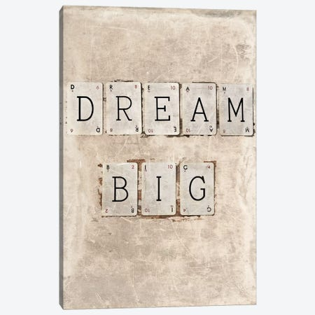 Dream Big Canvas Print #SYM19} by Symposium Design Canvas Wall Art