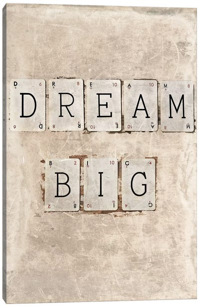 Dream Big Canvas Art Print