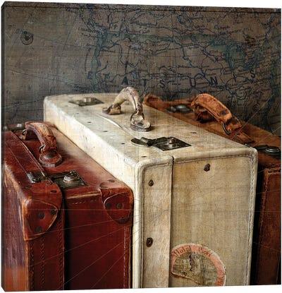 Suitcases II Canvas Art Print