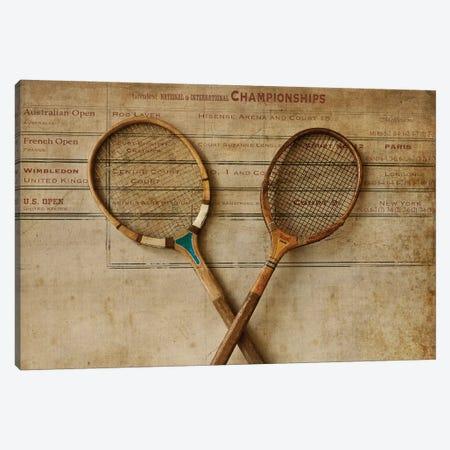 Tennis II Canvas Print #SYM47} by Symposium Design Canvas Wall Art