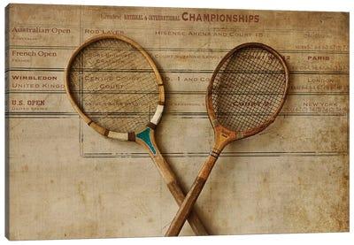 Tennis II Canvas Art Print