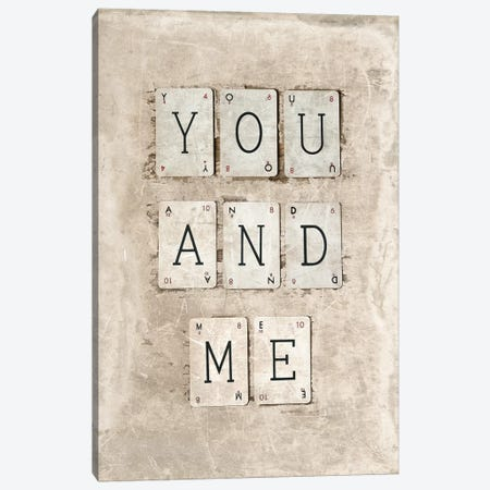 You And Me Canvas Print #SYM56} by Symposium Design Art Print