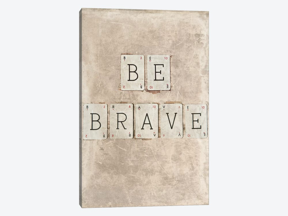 Be Brave by Symposium Design 1-piece Canvas Wall Art