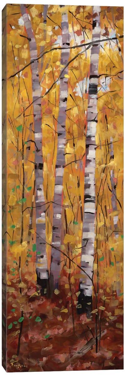 Trilogy Canvas Art Print