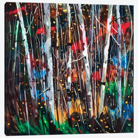 Autumn Fireworks Canvas Print #SYT2} by Graham Forsythe Canvas Artwork