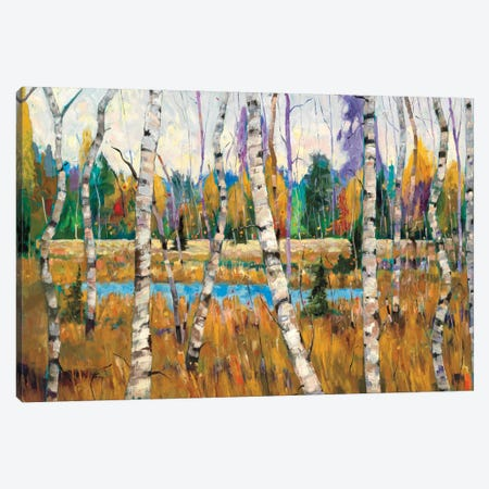 October Parade Canvas Print #SYT8} by Graham Forsythe Canvas Artwork