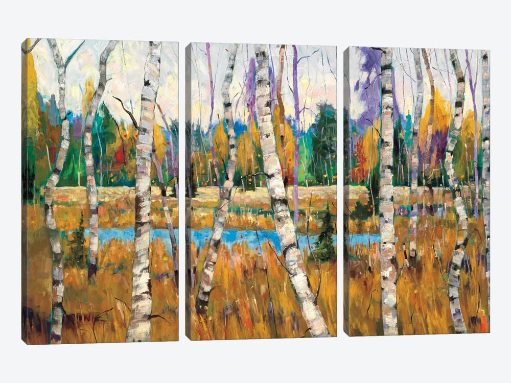 October Parade by Graham Forsythe 3-piece Canvas Art