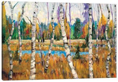 October Parade Canvas Art Print