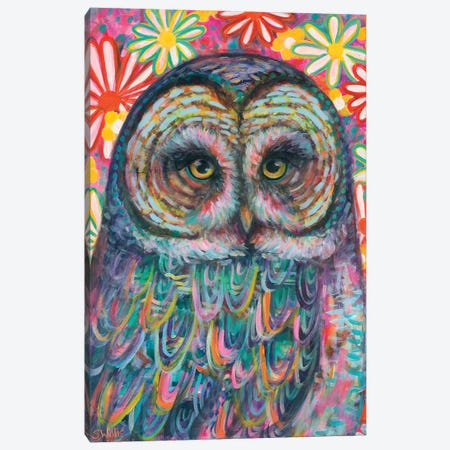 Owl You Need Is Love Canvas Print #SYW23} by Shelby Willis Canvas Print