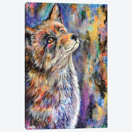 Sunshine Fox Canvas Print #SYW29} by Shelby Willis Canvas Print