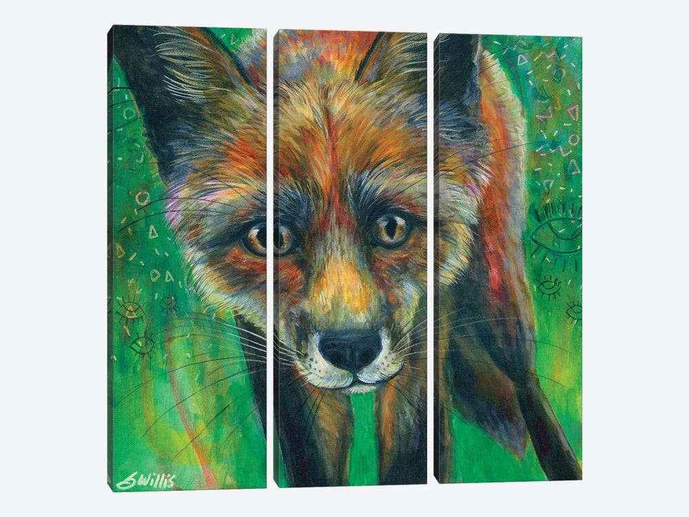 Awake by Shelby Willis 3-piece Canvas Print