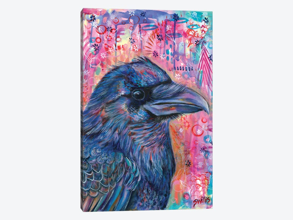 Wallflower by Shelby Willis 1-piece Canvas Print