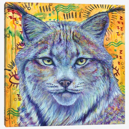 Wild Heart Canvas Print #SYW35} by Shelby Willis Art Print
