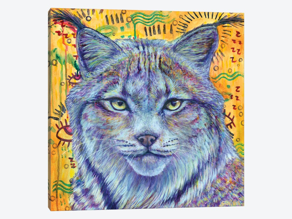 Wild Heart by Shelby Willis 1-piece Canvas Print